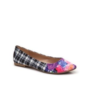 Mix No. 6 Danzey Plaid Ballet Flat Size 8
